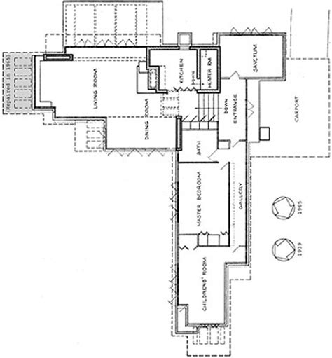 pope leighey house floor plan rosenbaum house floor plan popular house plans and