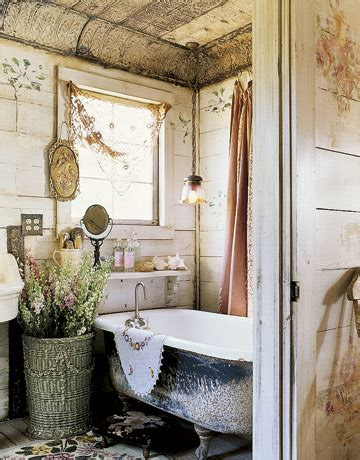 Antique Bathroom Decor by Enchanted Cottage Panda S House