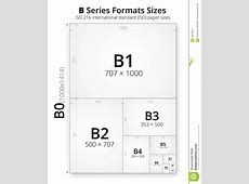 Size Of Format B Paper Sheets Stock Vector - Illustration ... B-paper
