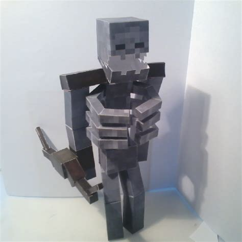 minecraft coloring pages mutant skeleton papercraft mutant skeleton mutant creatures mod