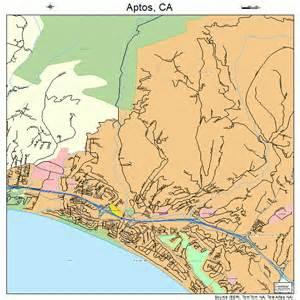 aptos california map aptos california map 0602378