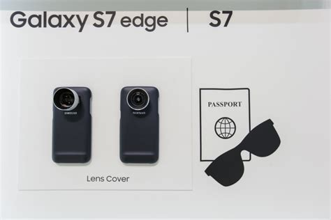 Samsung Lens Cover Galaxy S7 Edge 2 Lens Telephoto 2x And Wide Angle samsung lens cover for the galaxy s7 and s7 edge weboo