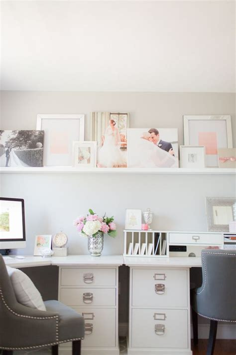 Home Office Desk Grey Pink Gray Home Office Shelf Desk Grey And Bookshelf