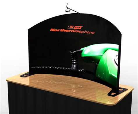 tabletop displays for tradeshow use popups tensioned
