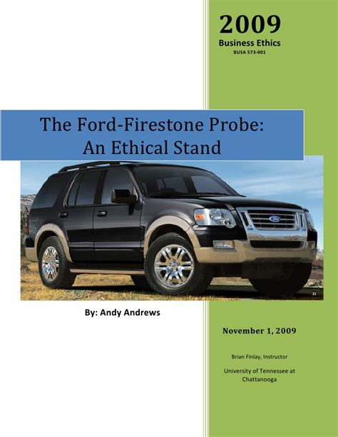 ford firestone the ford firestone probe