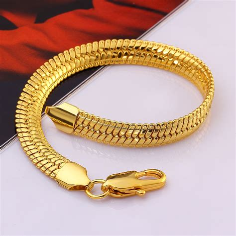 Kalung Rope Anchor gold bracelets mens authentic 6mm 14k solid gold