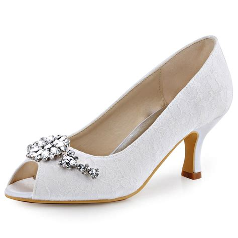 Wedding Shoes Low Heel Cheap by Popular Lace Bridal Shoes Low Heel Buy Cheap Lace Bridal