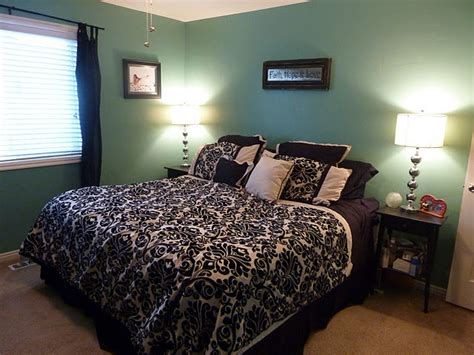 aqua black and white bedroom turquoise and black and white bedroom