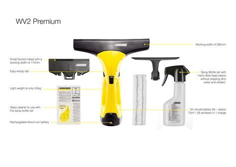Lave Vitre Karcher 240 by K 228 Rcher Window Vac Wv 2 Premium Incl Accessories