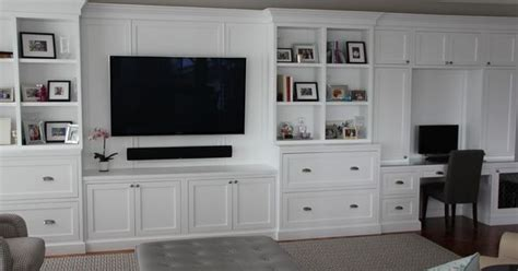 entertainment center with desk fantastic media center decorating ideas for magnificent