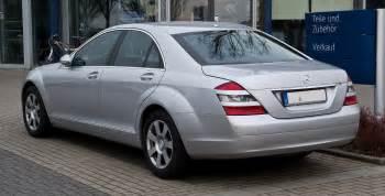 Mercedes S Class Wiki File Mercedes S Klasse W 221 Heckansicht 3 M 228 Rz