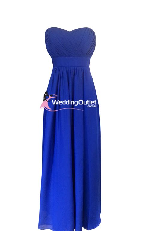 Royal Blue Bridesmaid Dress by Royal Blue Bridesmaid Dresses Weddingoutlet Au
