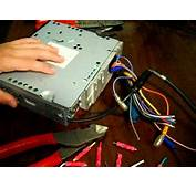 How To Wire Car Radio Pt1  YouTube