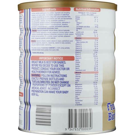 s26 gold comfort formula s26 gold comfort formula from birth 850g woolworths