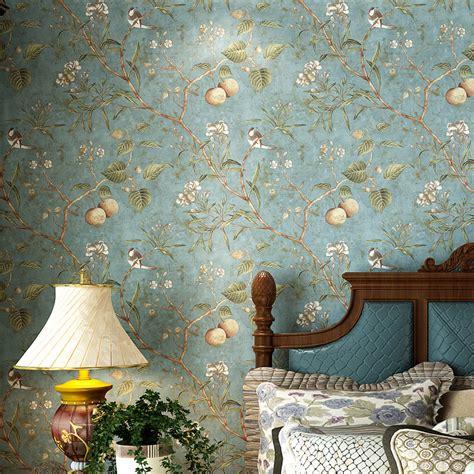 bird wallpaper for walls vintage online buy wholesale fruit wallpaper from china fruit