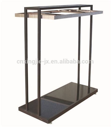 Hanger Baju 1 display rack steel bottom garment hanger used in clothing shop buy display rack steel bottom