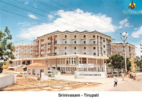 tirupati srinivasam room booking accommodation tirupati ttd booking rates info