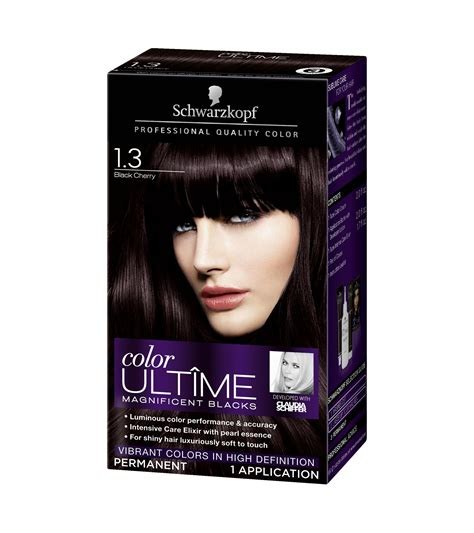 how will black cherry hair dye come out witj red hair cherry coke brown hair color sallys dark brown hairs photo