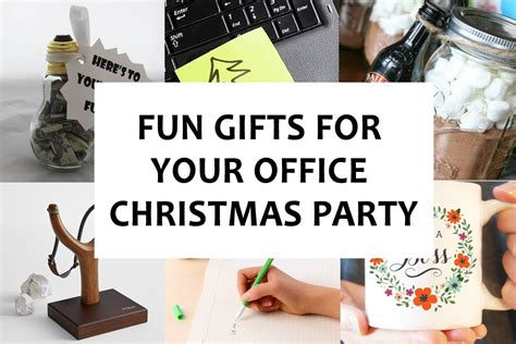 fun gifts ideas fun gifts for your office christmas party bonjourlife