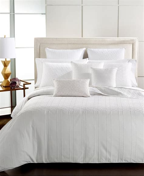 the hotel collection bedding hotel collection sonnet queen bedskirt white