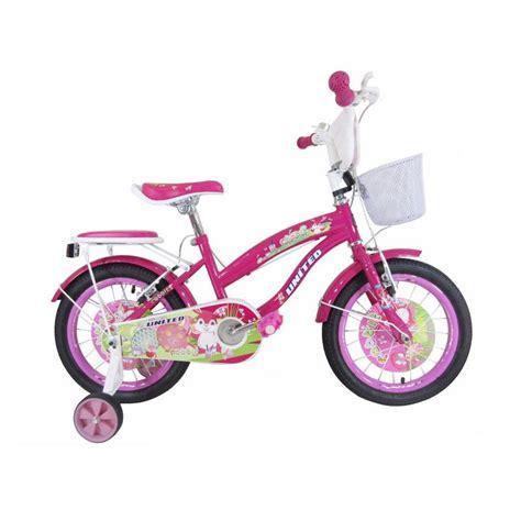 Roda Bantu Sepeda Anak United jual united rabbit sepeda anak 16 inch harga kualitas terjamin blibli