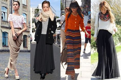 fall winter 2013 maxi skirt fashion trend style