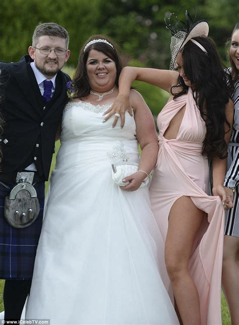 Wedding Photo Nip Slips