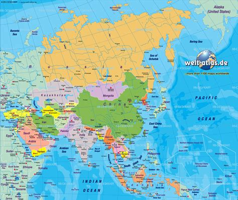asia map atlas map of asia map of the world political map in the atlas