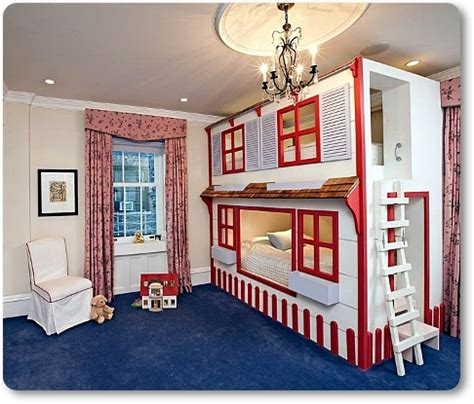 bunk beds that look like a house kreativni dje芻ji kreveti kao prostor za spavanje i igru