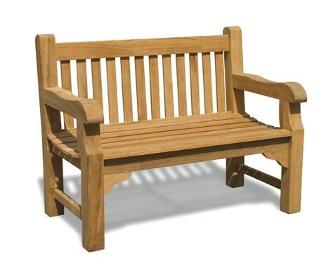 4ft garden bench balmoral 4ft teak street park bench