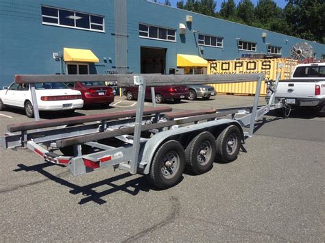 boat trailer axles houston 2008 13000lb triple axle boat trailer priced to sell