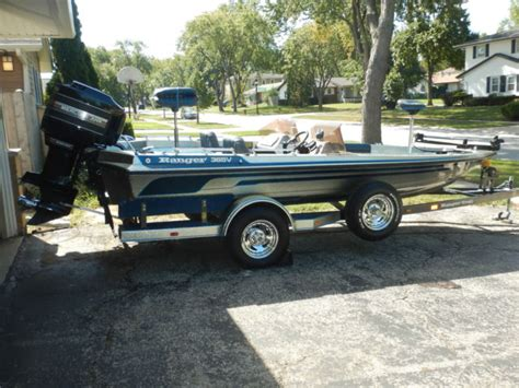 bass boat village 1990 ranger 365v fish and ski bass boat for sale in elk
