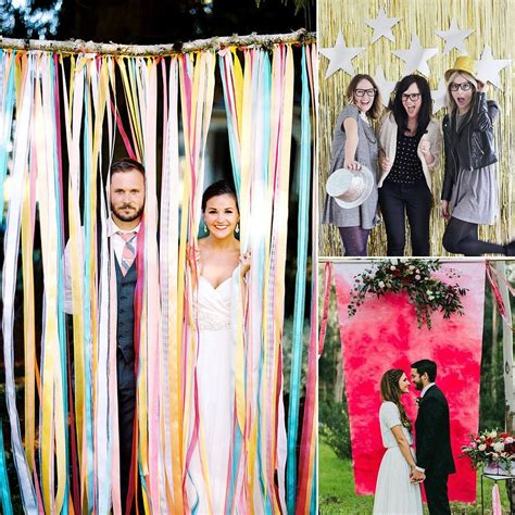 building a photo booth diy wedding photo booth ideas popsugar smart living