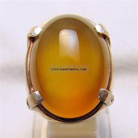 Cincin Batu Bacan Obi Batik batu bacan obi kuning cincinpermata jual
