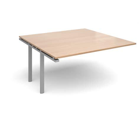 Beech Boardroom Table Adapt Ii Boardroom Table Add On Unit 1600mm X 1600mm Silver Frame Beech Top Www