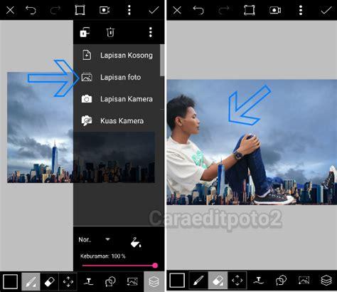 tutorial foto picsart tutorial picsart edit foto manipulasi raksasa keren banget