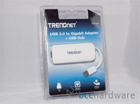 Trendnet Tu3 Etgh3 Usb 3 0 To Gigabit Adapter Usb Hub 29836 Wa trendnet usb 3 0 to gigabit adapter hub