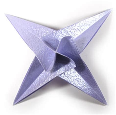 Four Pointed Origami - how to make a cb four pointed seashell origami page 3