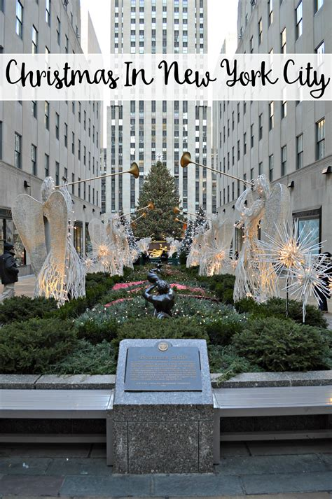 when does nyc start decorating for christmas in new york city the wandering weekenders