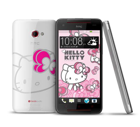 Hello Slider Smartphone Available In The Us by Htc ハローキティとコラボしたスマホ Butterfly S Hello Limited
