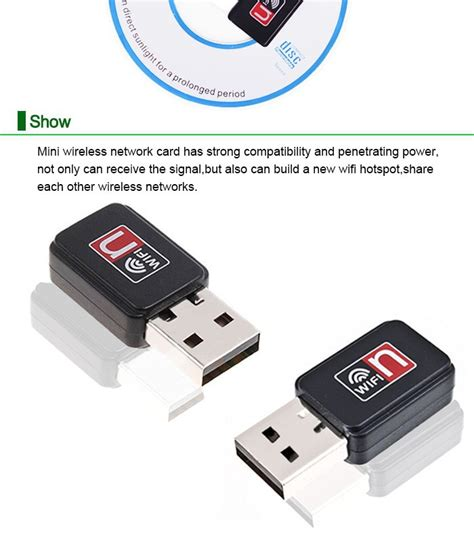 Usb Lan Card Portable usb wireless wifi adapter 150mbps 802 11b n g portable