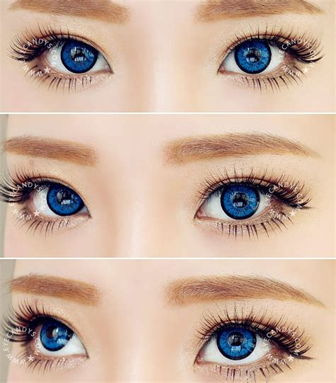 contact lenses colored best 25 prescription colored contacts ideas on