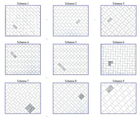 floor tile template some alternate tile patterns that may or may not be