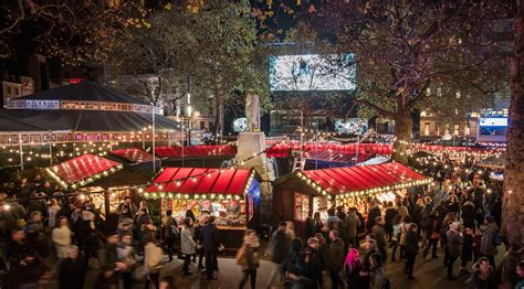 leicester square christmas market 2017 everything you