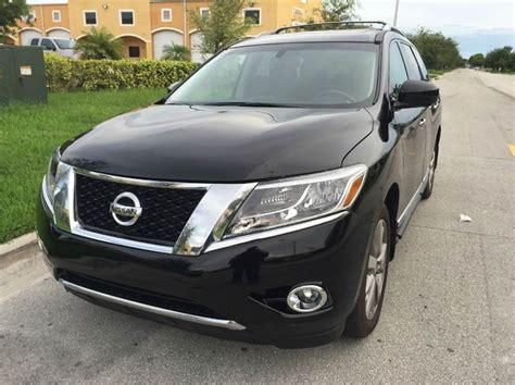 2013 pathfinder for sale 2013 nissan pathfinder for sale in miami fl