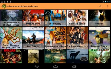 android audio books 10 best audiobook apps for bibliophiles android hongkiat