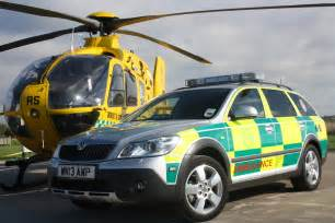 new air car new rapid response vehicle for air ambulance dorset and