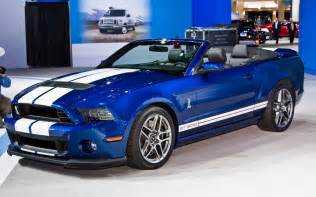 2013 ford shelby gt500 convertible front three quarters