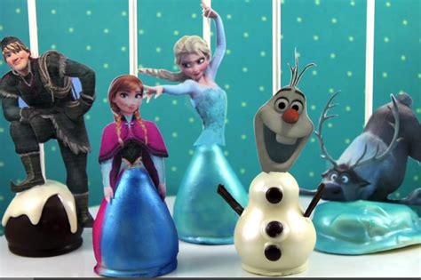frozen3 youtube diy frozen cake pops all the disney frozen characters