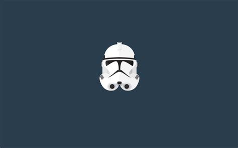 stormtrooper star wars minimalism helmet wallpapers hd